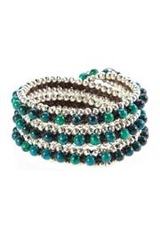 Ananda Leather Wrap Bracelets - Product Mini Image