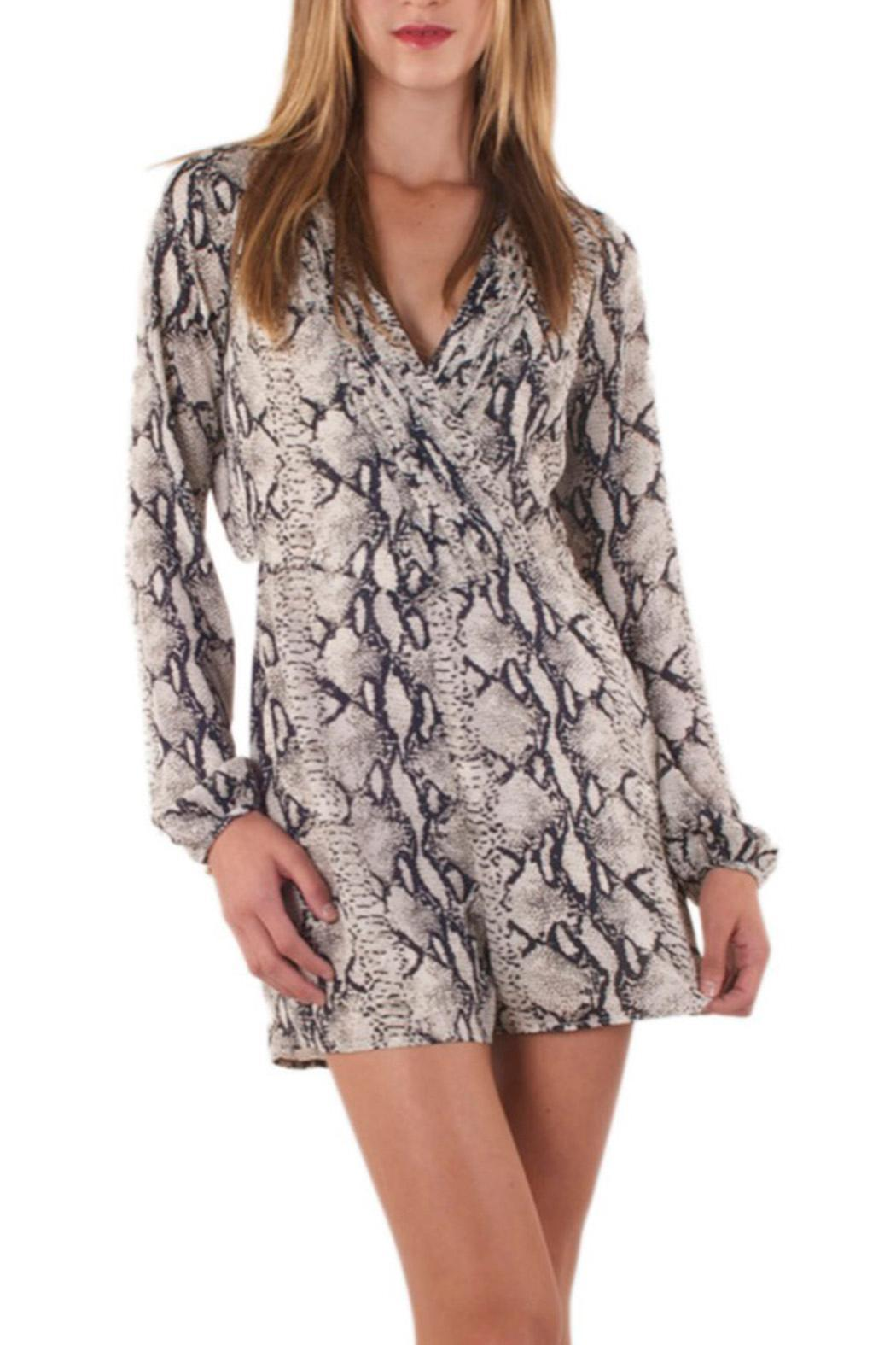 ac48e243cf4e Ark   Co. Snake-Print Romper from Las Vegas by R+D — Shoptiques