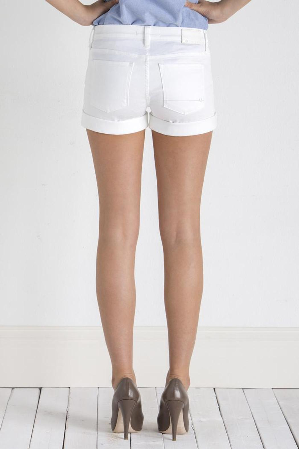 Henry & Belle White Ideal Short - Back Cropped Image