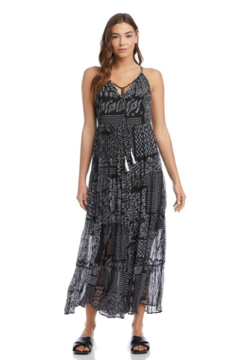 Shoptiques Product: 2L54181 - Patch Print Maxi Dress