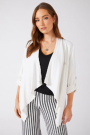 Karen Kane 2L75542 - Drop Front Jacket - Product Mini Image