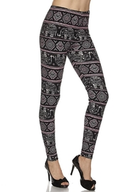2NE1 Apparel Aztec-Elephant Brushed Legging - Product Mini Image