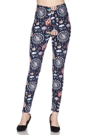 2NE1 Apparel Carnival Print Leggings - Product Mini Image
