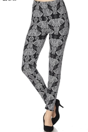 2NE1 Apparel Elephant Print Legging - Product Mini Image