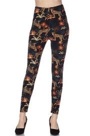 2NE1 Apparel Leopard Leggings - Product Mini Image