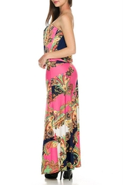 2NE1 Apparel Pink Maxi Dress - Back cropped