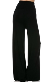 2NE1 Apparel Solid Palazzo Pants - Front full body