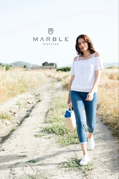 Marble 2pc White Top - Alternate List Image