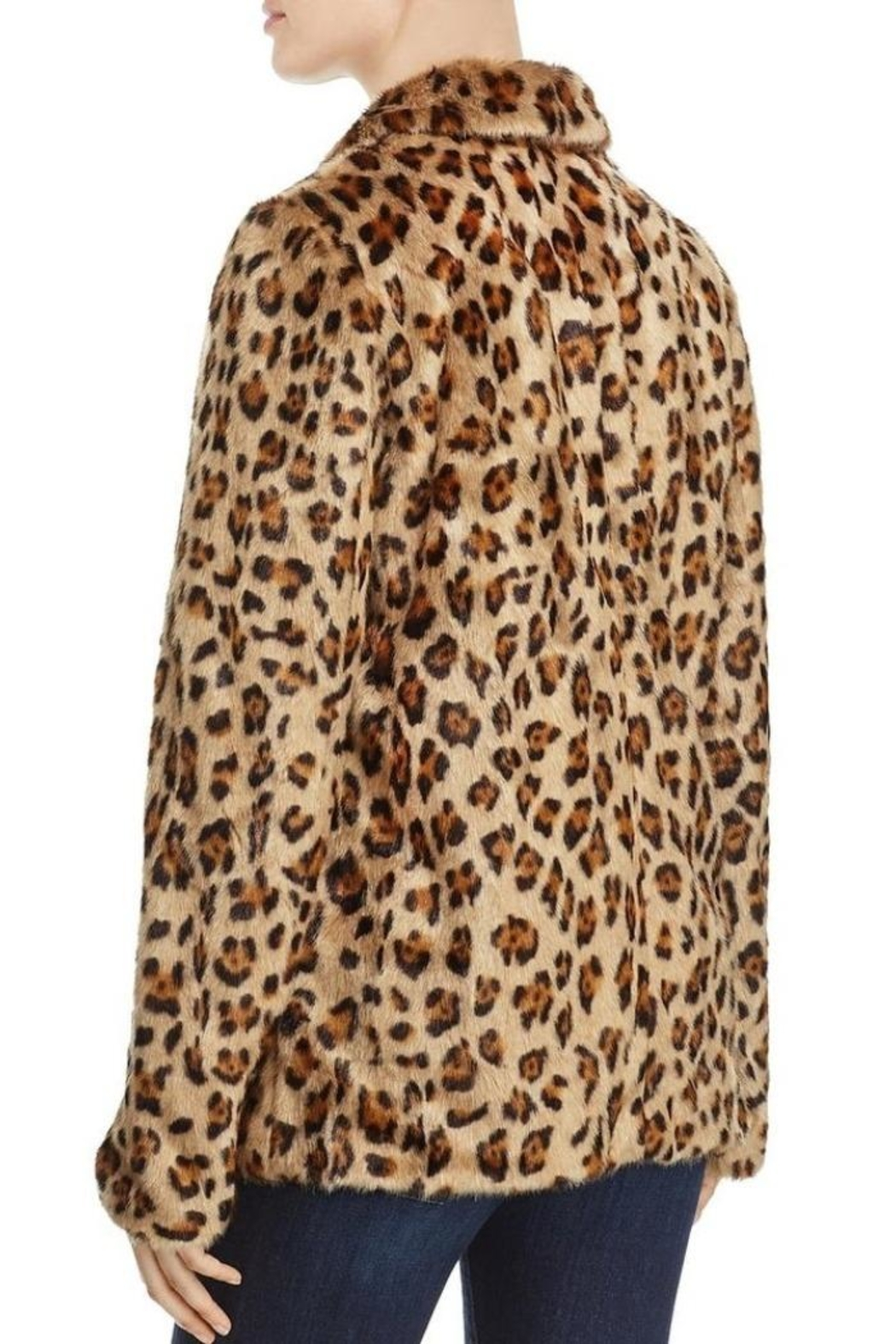 2Sable Leopard Jacket - Front Full Image