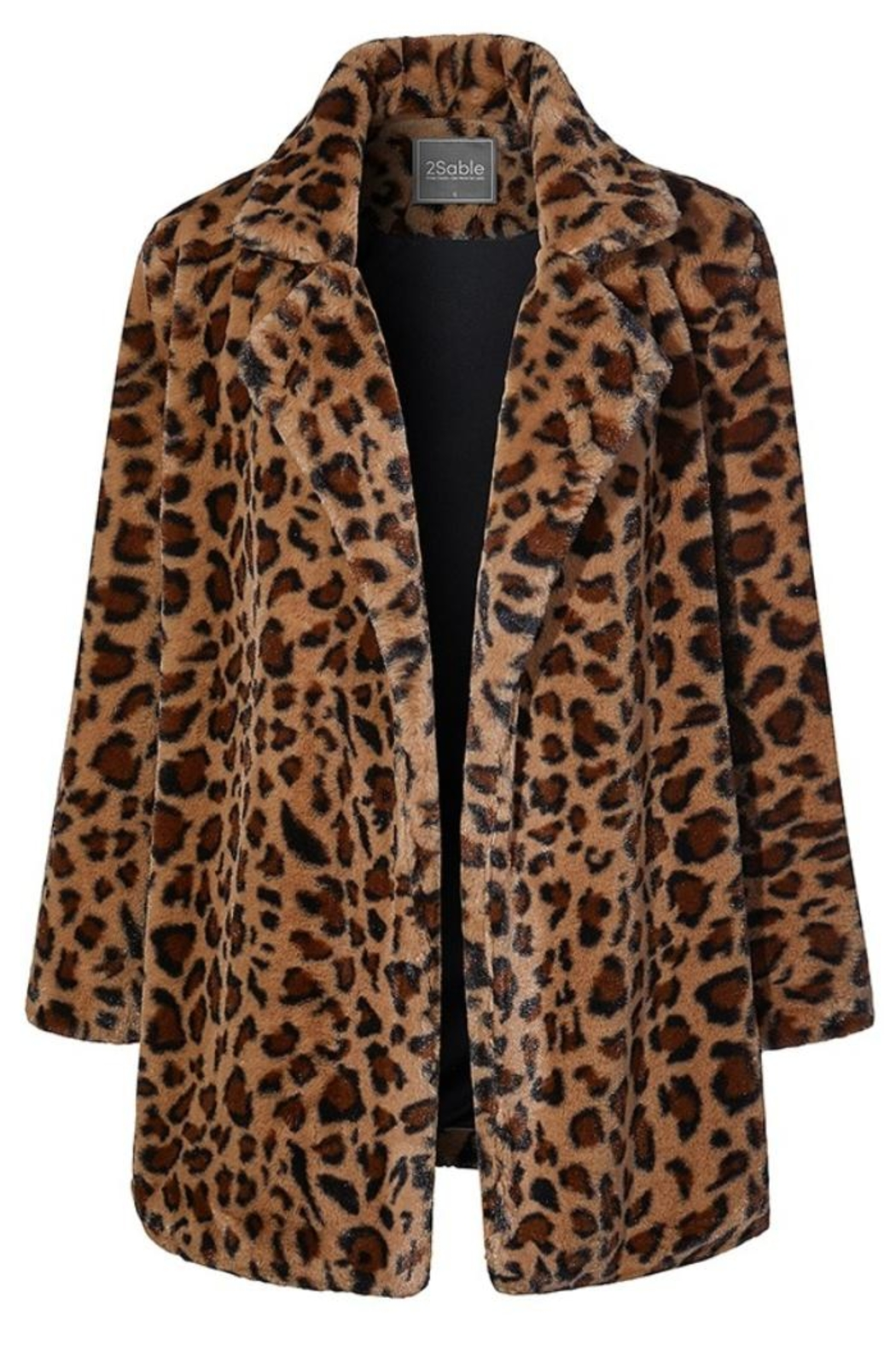 2Sable Leopard Jacket - Front Cropped Image