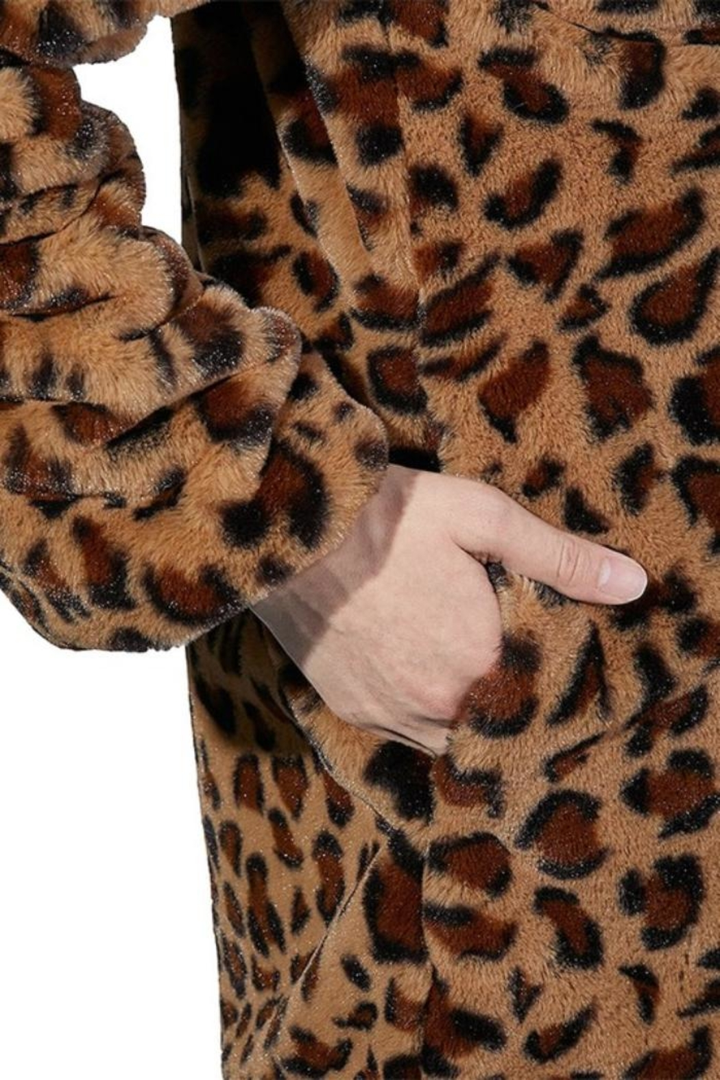 2Sable Leopard Jacket - Side Cropped Image