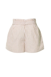 2Sable Striped Shorts - Front full body