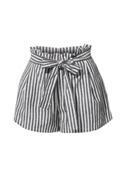 2Sable Striped Shorts - Front cropped