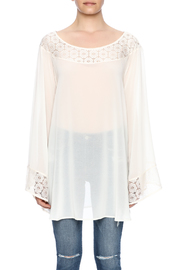 2Tee Couture Mia Oat Top - Side cropped