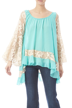 2Tee Couture Mint Ashley Top - Product List Image