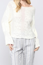 FATE by LFD 2way knitted crop sweater - Front cropped
