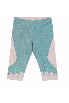 Shoptiques Product: 3/4 legging Mermaid Tale