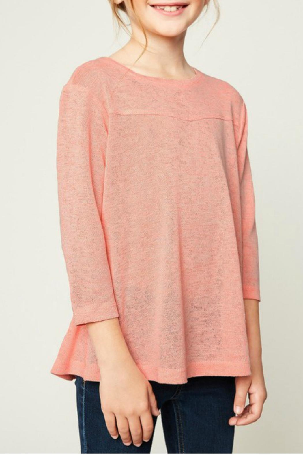 Hayden Los Angeles 3/4 Sleeve Blouse - Main Image