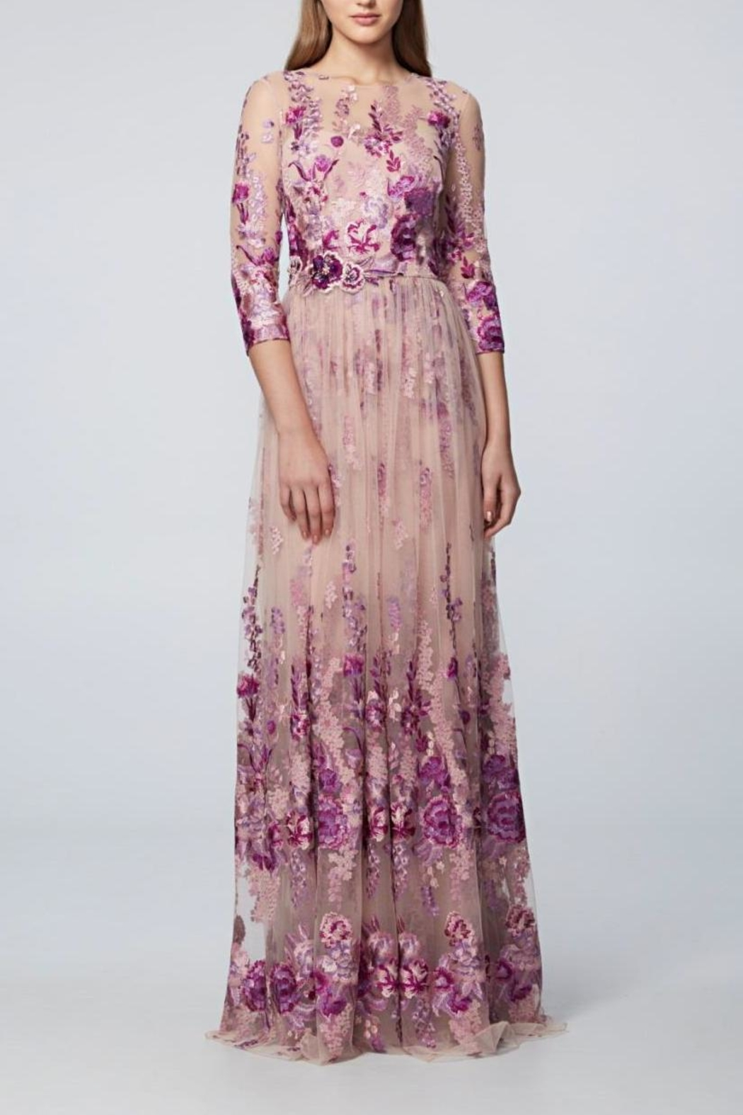 David Meister 3/4 Sleeve Gown from New Jersey by District 5 Boutique ...