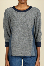 Current Air 3/4 sleeve knit top - Product Mini Image