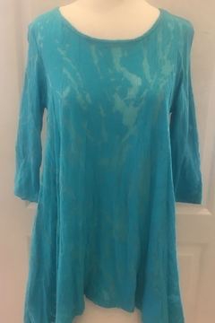 Shoptiques Product: 3/4 sleeve scoop tunic