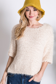 Davi & Dani 3/4 sleeve sweater - Product Mini Image