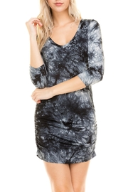 Heart and Hips 3/4-Sleeve Tie-Dye Dress - Product Mini Image