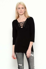 Heart & Hips 3/4 Sleeve Top - Product Mini Image