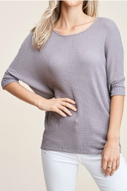 Staccato 3/4 Sleeve Top - Product Mini Image