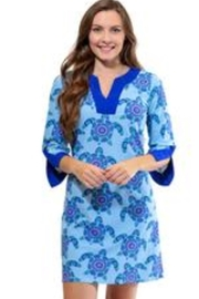 All For Color 3/4 Tunic Dress - Product Mini Image
