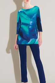 Clara Sunwoo 3/4 Watercolor Top - Product Mini Image
