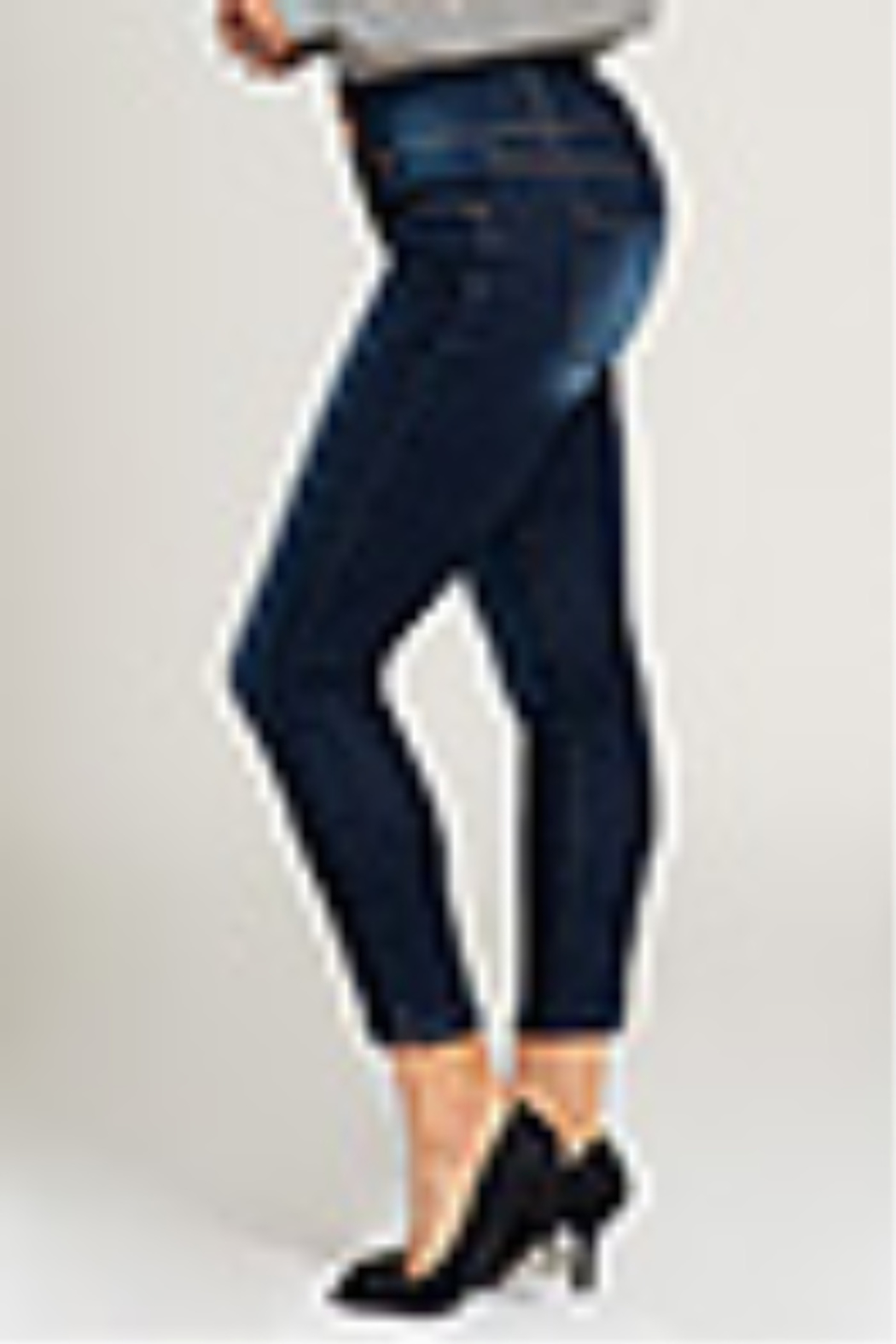 Lyn-Maree's  3 Button Mid Rise Jean - Main Image