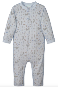 Feather Baby 3-Button Romper - Alternate List Image