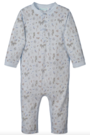 Feather Baby 3-Button Romper - Product Mini Image