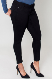 Royalty 3 Button Skinny Jean - Product Mini Image
