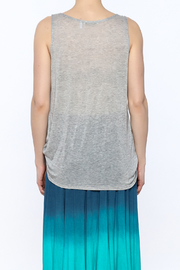 3 Dot Cowl Neck Tank Top - Back cropped