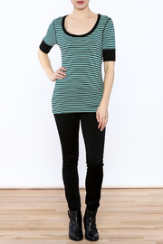 Shoptiques Product: Stripe Tunic Top - Front full body