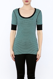 Shoptiques Product: Stripe Tunic Top - Side cropped