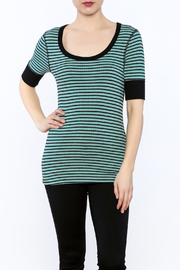 3 Dot Stripe Tunic Top - Product Mini Image