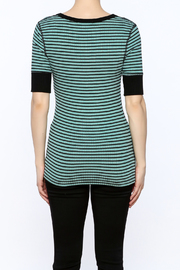 Shoptiques Product: Stripe Tunic Top - Back cropped
