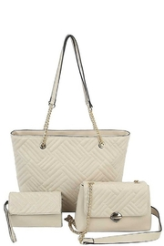 Bag Boutique 3-in-1 Tote, Mini Bag & Clutch Set - Product Mini Image