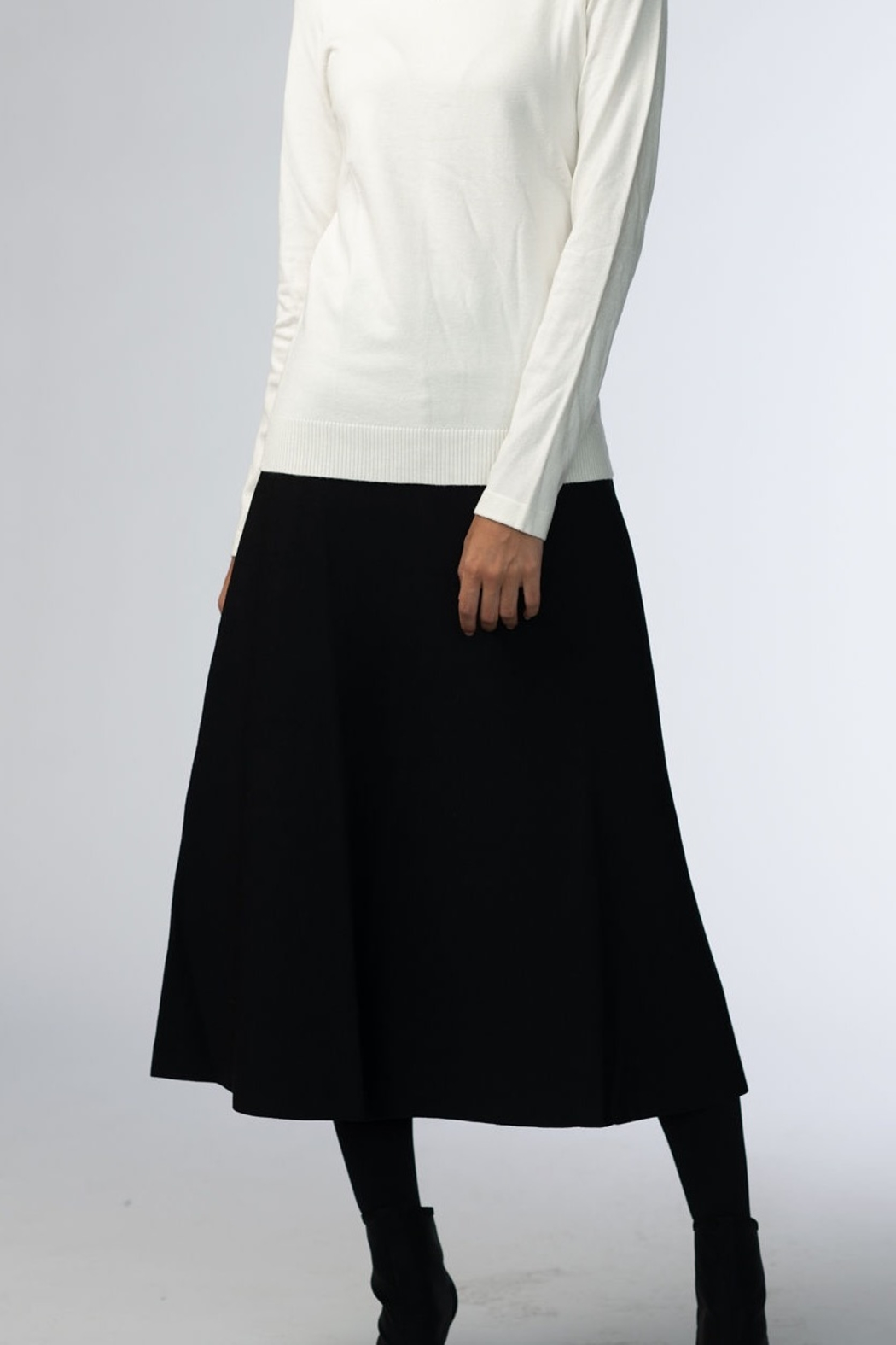 Meli by FAME 3 PANEL 25 INCH SKIRT - Main Image