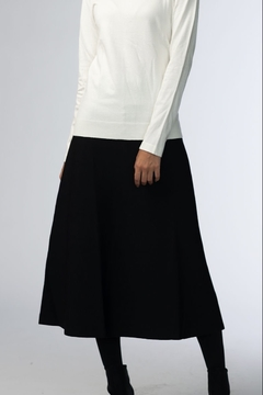 Shoptiques Product: 3 PANEL SKIRT 23 INCH