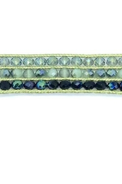 Stia Couture 3 Row Macrame Crystal Choker - Product List Image