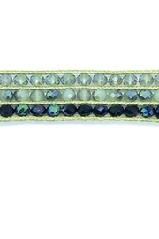 Stia Couture 3 Row Macrame Crystal Choker - Product Mini Image