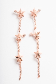 Girls Crew 3-Star Drop Earrings - Product Mini Image