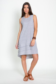 Dylan by True Grit 3 Tiers Tank Dress - Product Mini Image