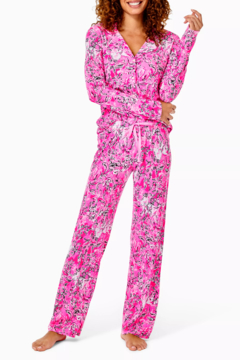 """Lilly Pulitzer  30"""" PJ Knit Pant - Product List Image"""