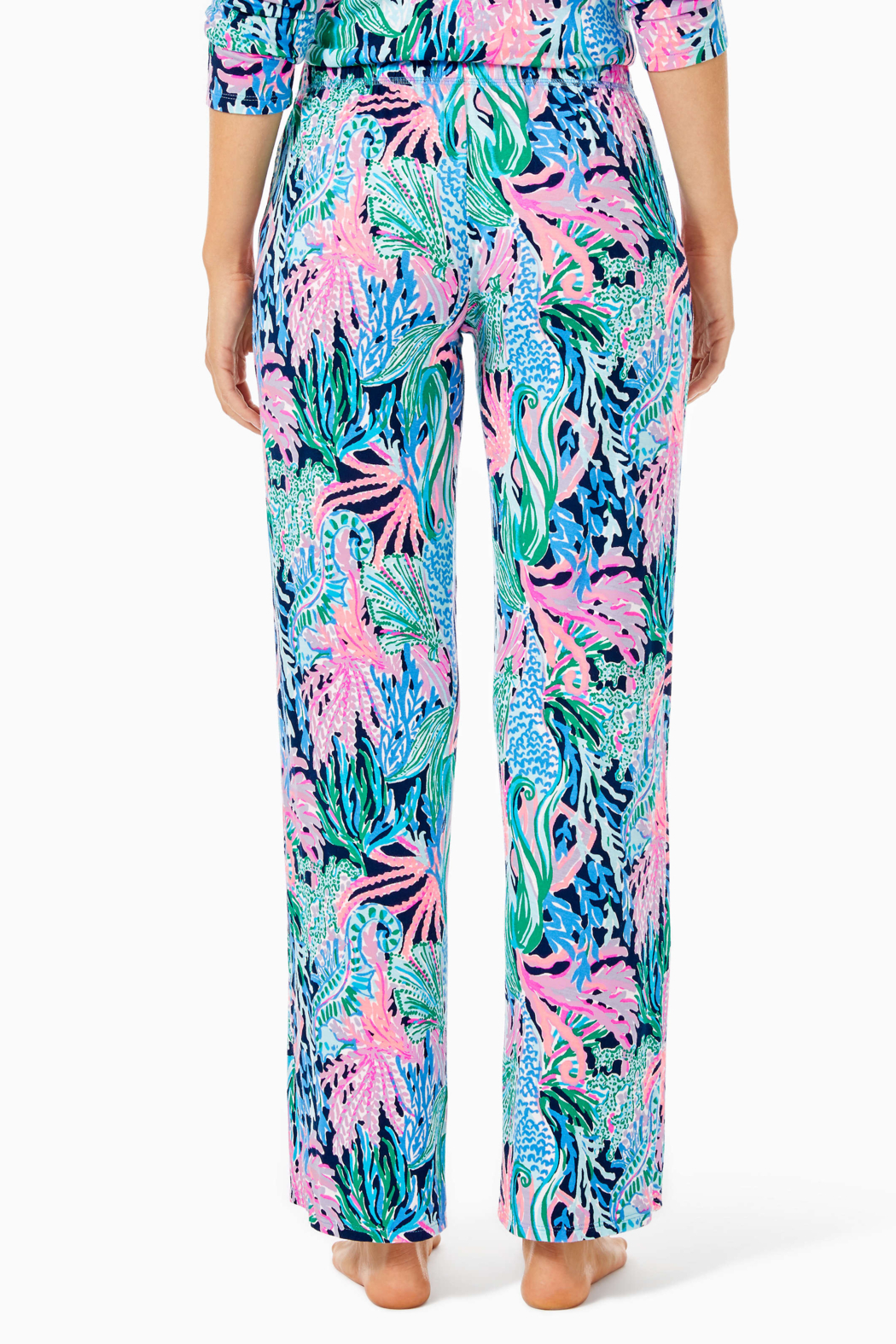 """Lilly Pulitzer  30"""" PJ Knit Pant - Side Cropped Image"""