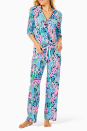 """Lilly Pulitzer  30"""" PJ Knit Pant - Front cropped"""